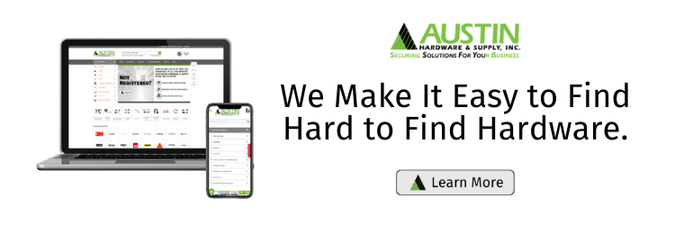We Make It Easy to Find Hard to Find Hardware.