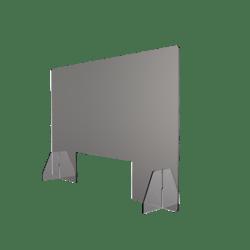Protective panel pass-thru render