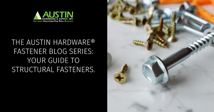 Structural Fasteners Blog Banner