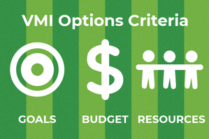 VMI Options Criteria infographic
